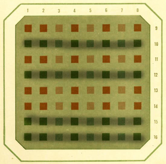 Полихроматические таблицы рабкина