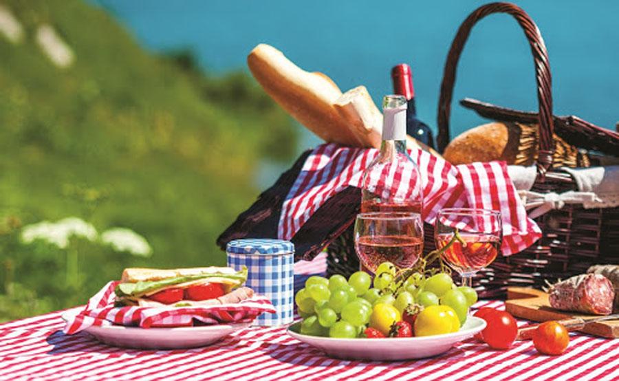 Отправляемся на пикник