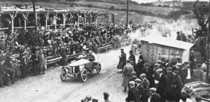 первые автомобильные гонки