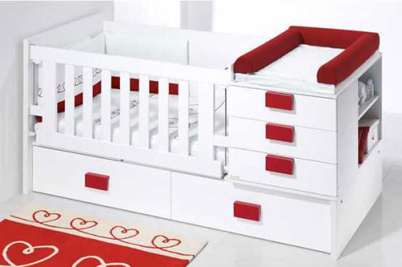 детская кроватка трансформер +с пеленальным столиком