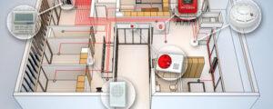 Особенности и этапы монтажа пожарной сигнализации
