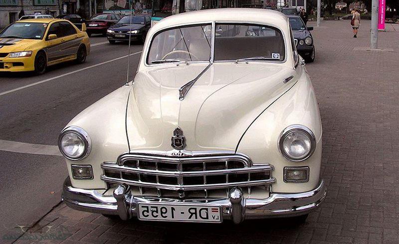 """Авто классика. Реставрированный ГАЗ 12 """"Зим"""""""